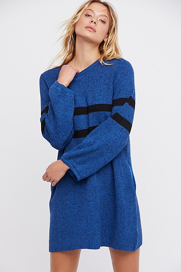 Slide View 2: On Your Team Sweater Mini Dress