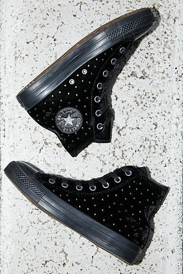 Slide View 1: Studded High Top Trainer