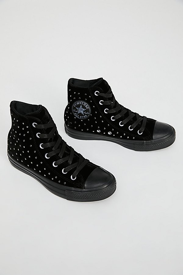 Slide View 2: Studded High Top Trainer
