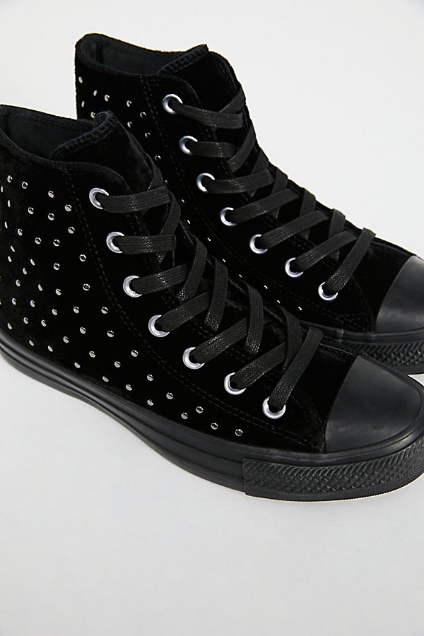 Slide View 3: Studded High Top Trainer