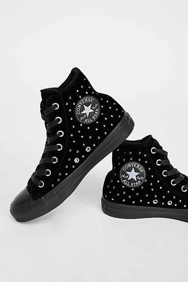 Slide View 4: Studded High Top Trainer