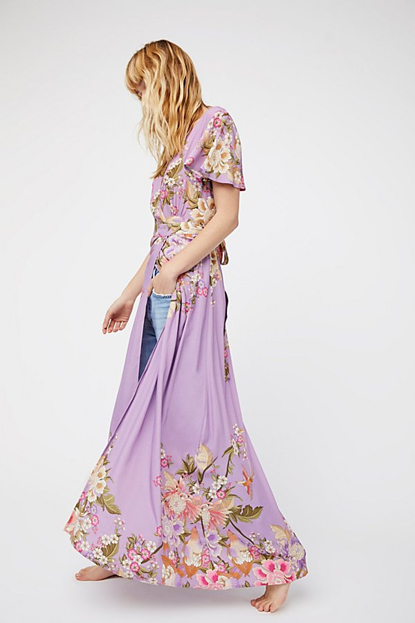 Slide View 1: Blue Skies Exclusive Wrap Maxi Dress