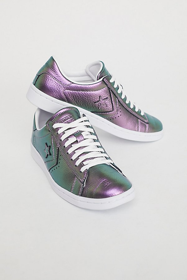 Slide View 2: Viola Leather Low Top Sneaker