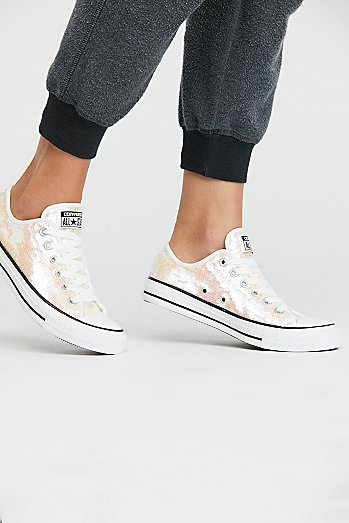 Odyssey Sequin Low Top Sneaker