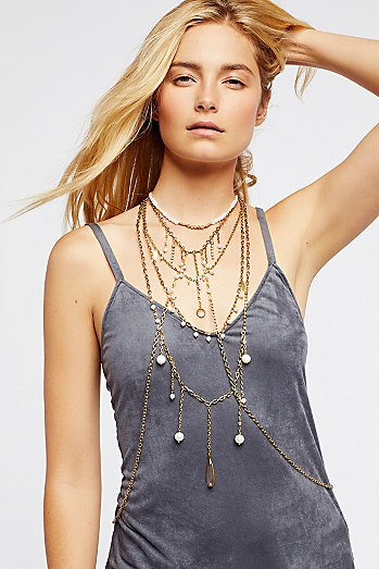 Dripping in Pearls Halter
