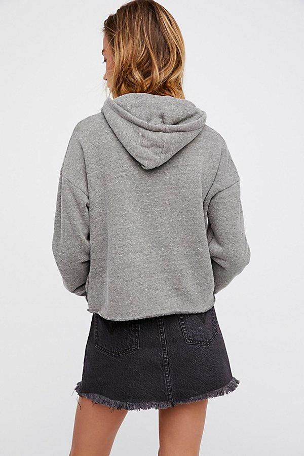 Slide View 2: Rock 'n' Roll Cropped Hoodie