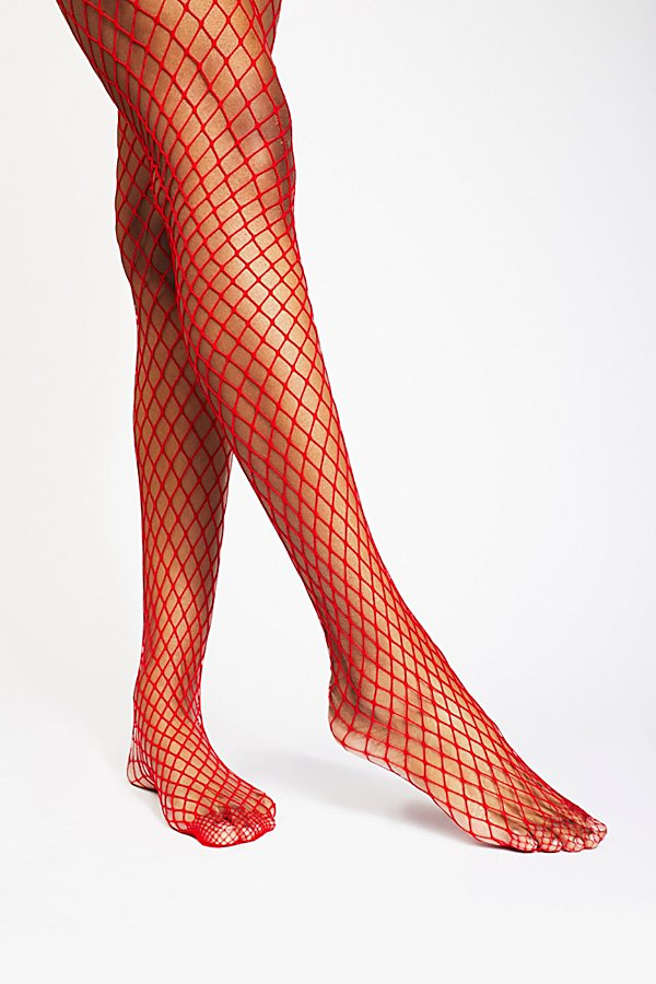 Slide View 2: Limelight Fishnet Tight
