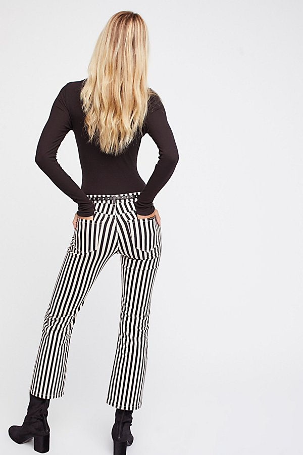 Slide View 3: Seasonal Cropped Kick Trouser