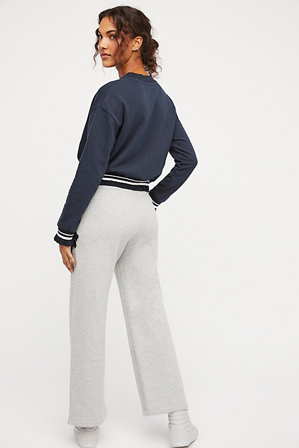 Slide View 2: Lacey Cropped Sweats