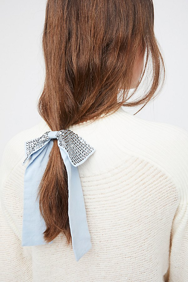 Slide View 2: Studded Bow Hair Tie