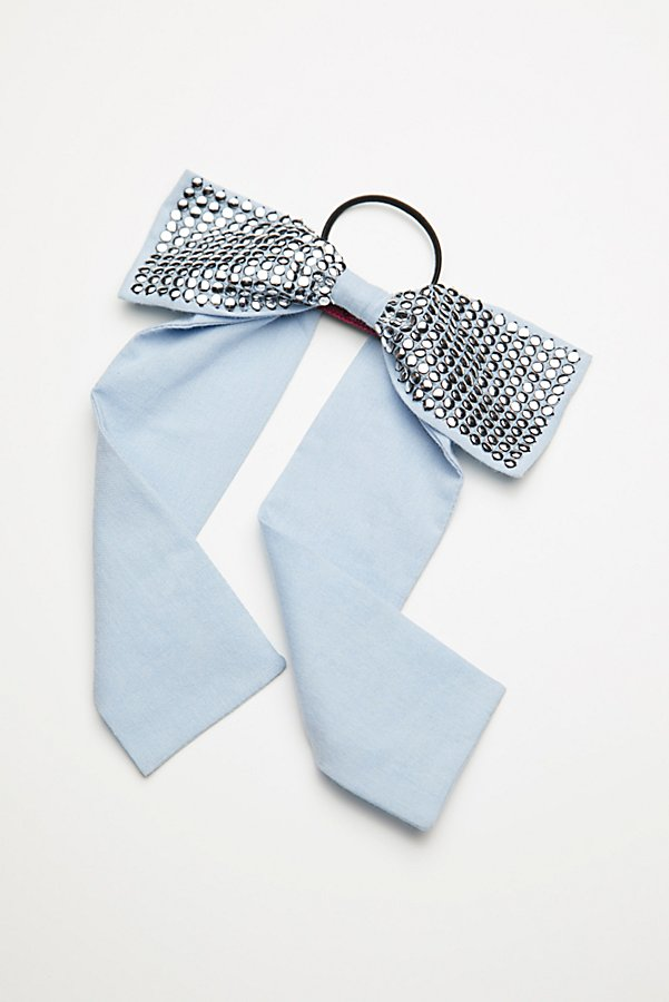Slide View 3: Studded Bow Hair Tie