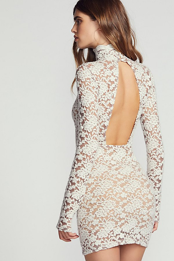 Slide View 2: Sweater Lace Bodycon