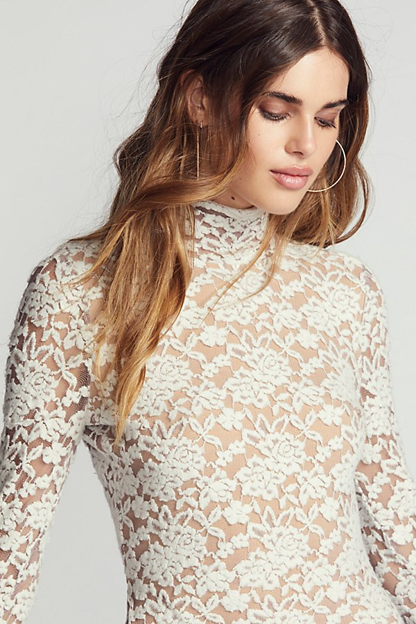 Slide View 3: Sweater Lace Bodycon