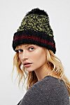 Thumbnail View 2: Happy Trails Stripe Pom Beanie