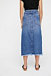 Thumbnail View 2: Walk in the Park Denim Midi Skirt