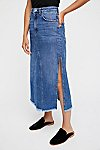 Thumbnail View 3: Walk in the Park Denim Midi Skirt