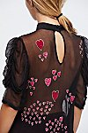 Thumbnail View 5: So In Love Embroidered Blouse