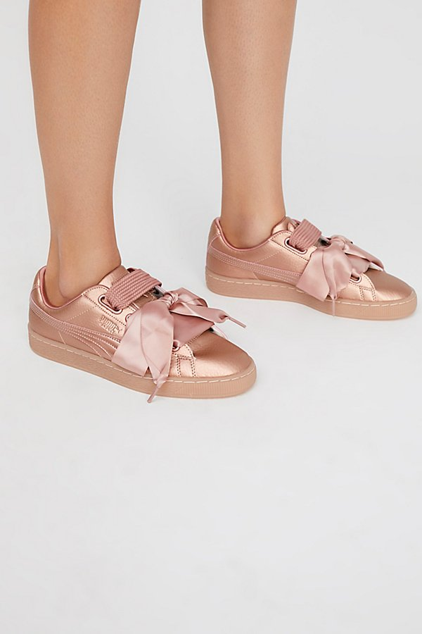Slide View 1: Basket Heart Copper Sneaker