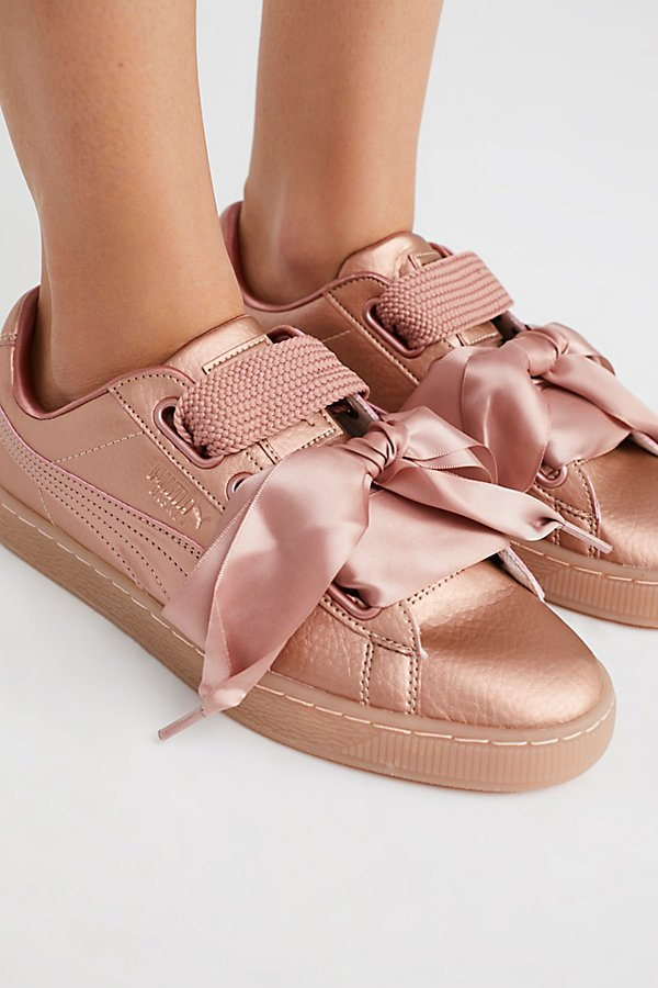 Slide View 2: Basket Heart Copper Sneaker