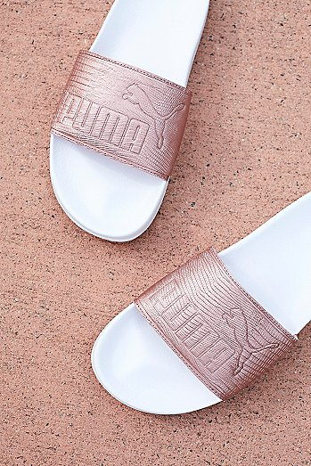 Leadcat Leather Slide Sandal