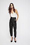 Thumbnail View 2: Nightfall Cropped Leather Pants