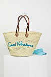 Thumbnail View 1: La Plage Poolside Basket Bag