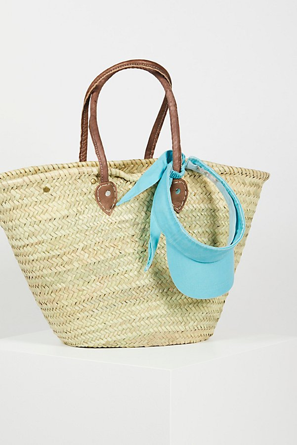 Slide View 2: La Plage Poolside Basket Bag