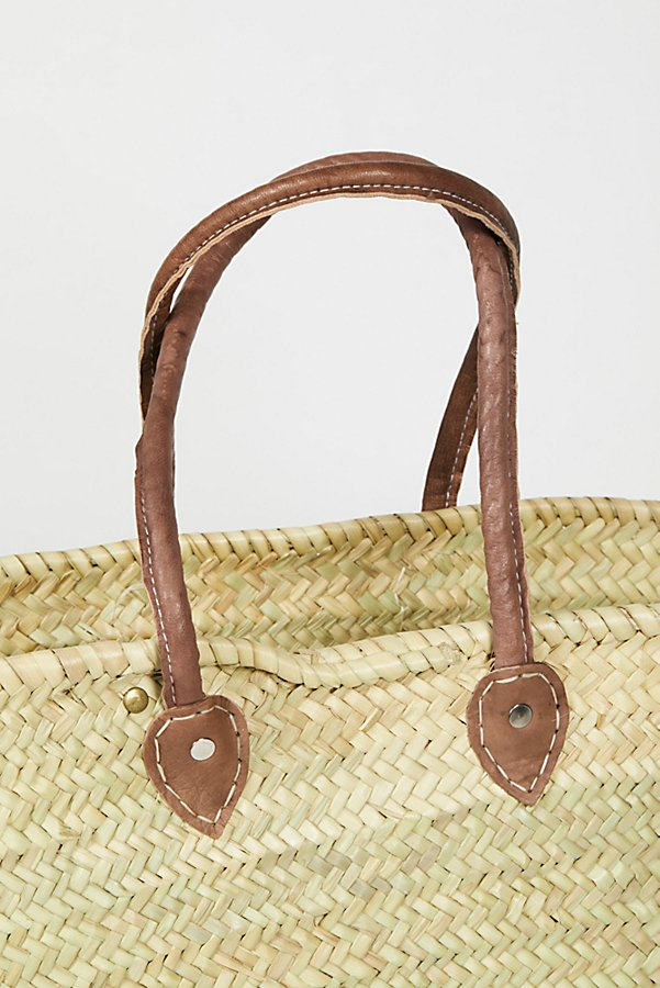 Slide View 4: La Plage Poolside Basket Bag