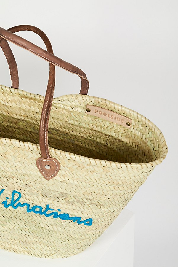Slide View 5: La Plage Poolside Basket Bag