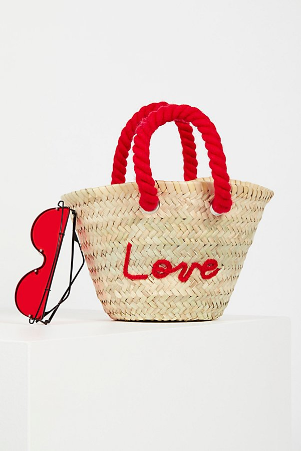 Slide View 1: L'Petit Poolside Straw Mini Tote