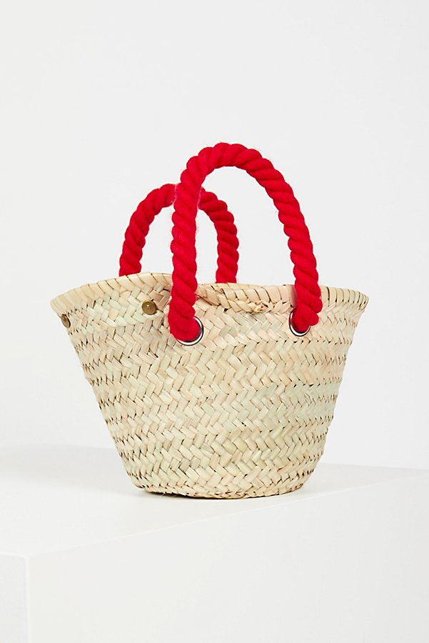 Slide View 2: L'Petit Poolside Straw Mini Tote