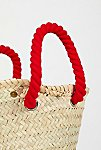 Thumbnail View 4: L'Petit Poolside Straw Mini Tote