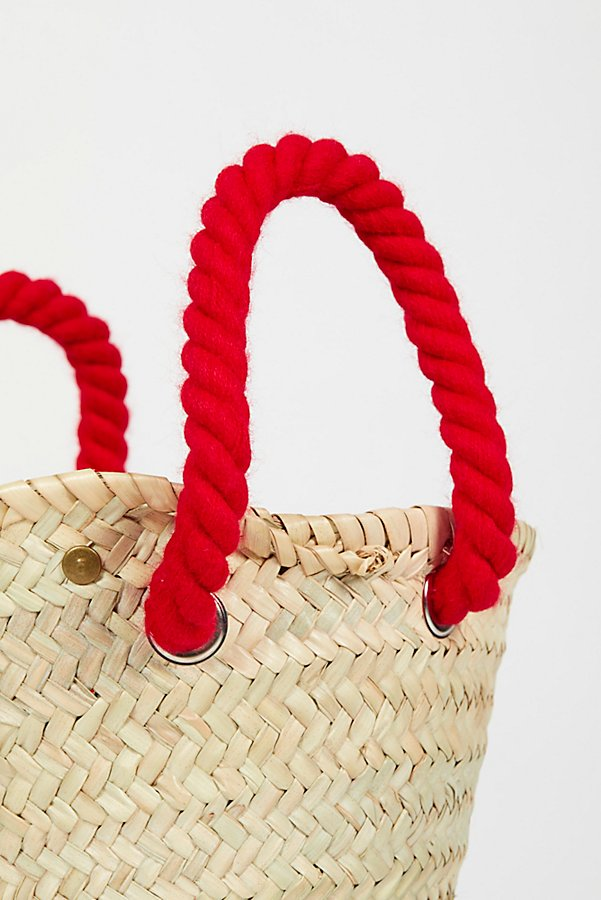 Slide View 4: L'Petit Poolside Straw Mini Tote