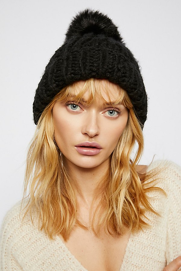 Slide View 1: Happy Trails Pom Beanie