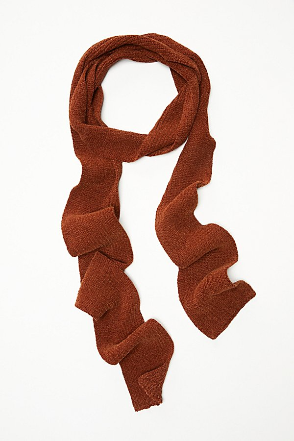 Slide View 2: Shimmy In Chenille Skinny Scarf