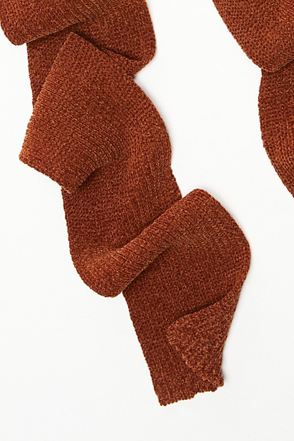 Slide View 3: Shimmy In Chenille Skinny Scarf