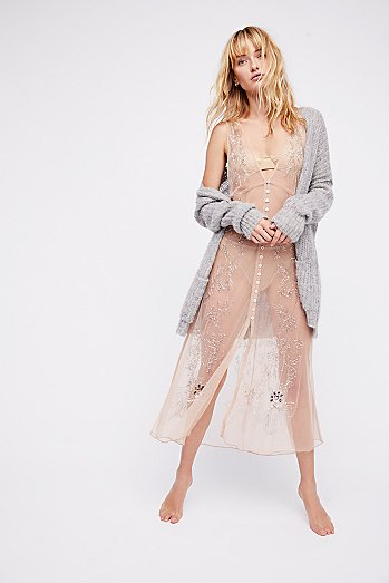 Vested In You Embellished Slip