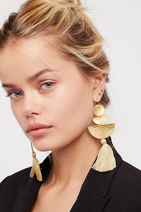 Slide View 1: Bryce Canyon Tassel Earrings