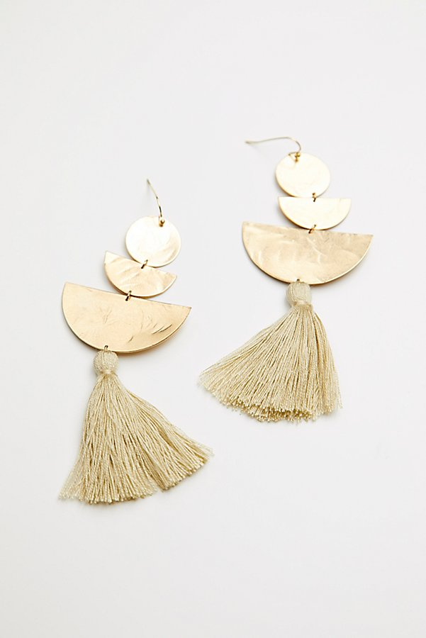 Slide View 2: Bryce Canyon Tassel Earrings
