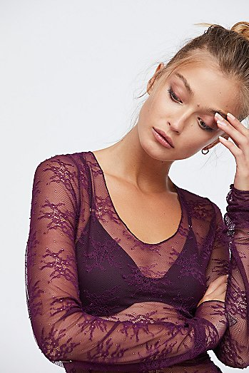 Suzie Lace Layering Top
