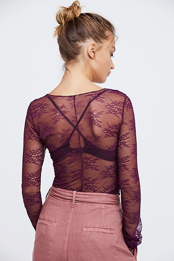 Slide View 3: Suzie Lace Layering Top