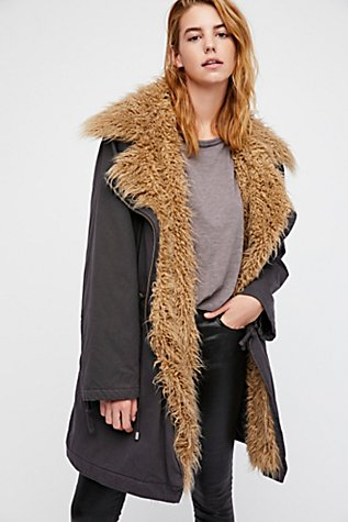 Fur Lined Extreme Moto Parka | Free People
