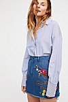 Thumbnail View 2: Flower Child Denim Skirt
