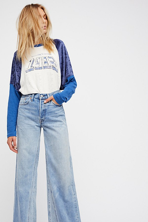 Slide View 1: Levi's Altered Wide Leg Jeans
