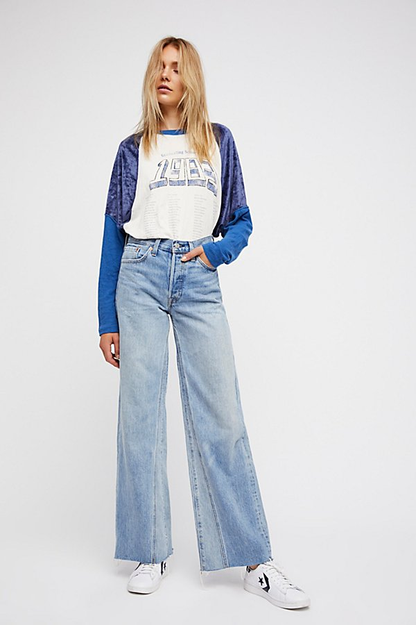 Slide View 2: Levi's Altered Wide Leg Jeans