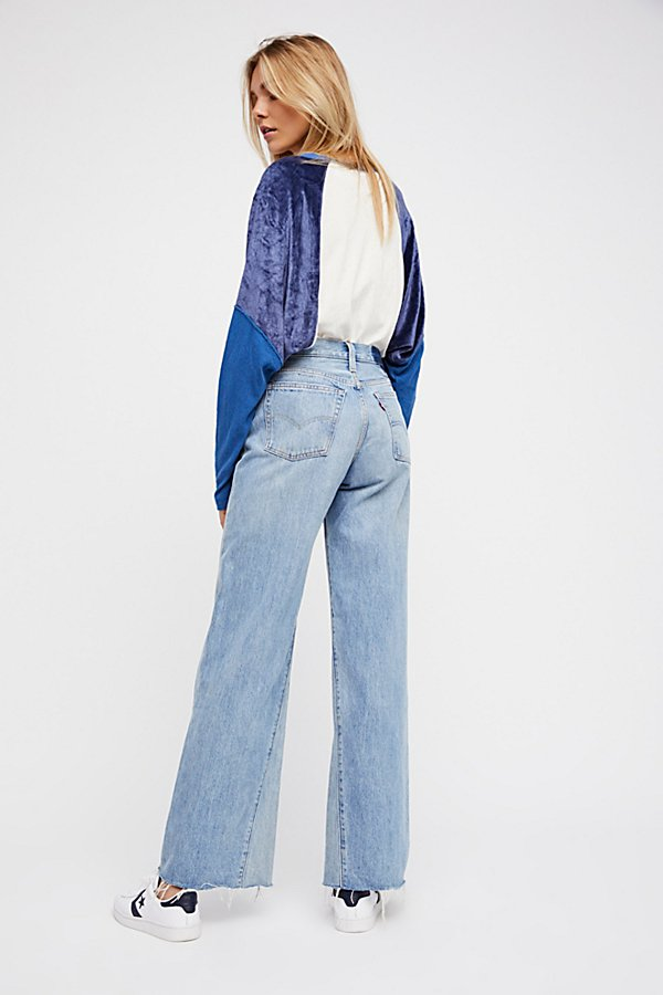 Slide View 3: Levi's Altered Wide Leg Jeans