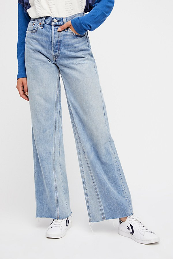 Slide View 4: Levi's Altered Wide Leg Jeans