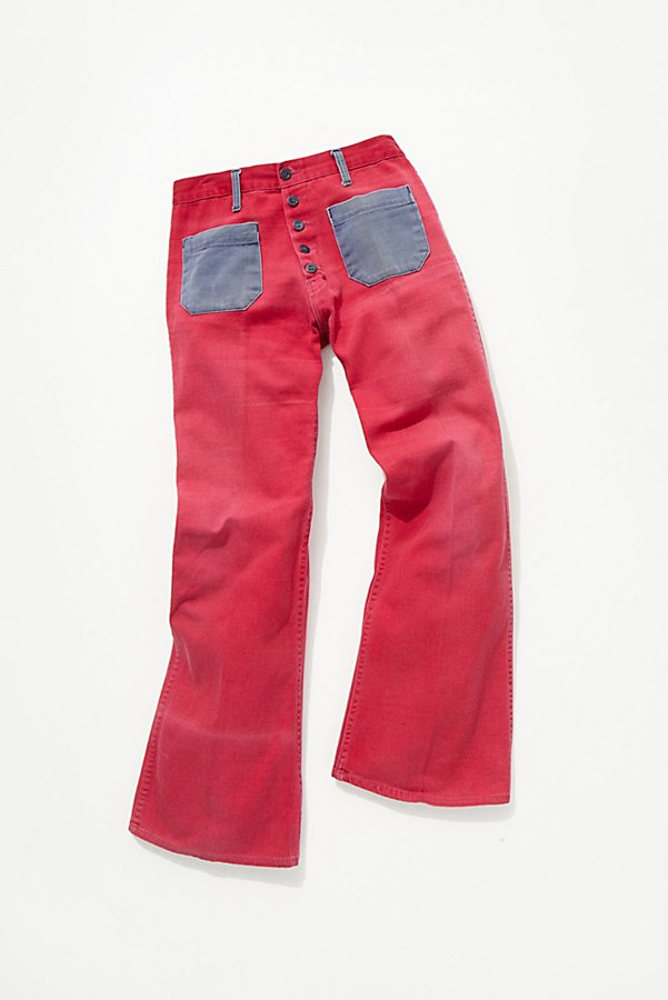 Slide View 2: Vintage 1960s Two Tone Flares