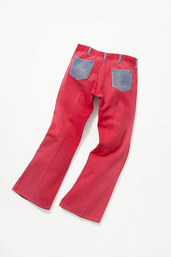 Slide View 3: Vintage 1960s Two Tone Flares