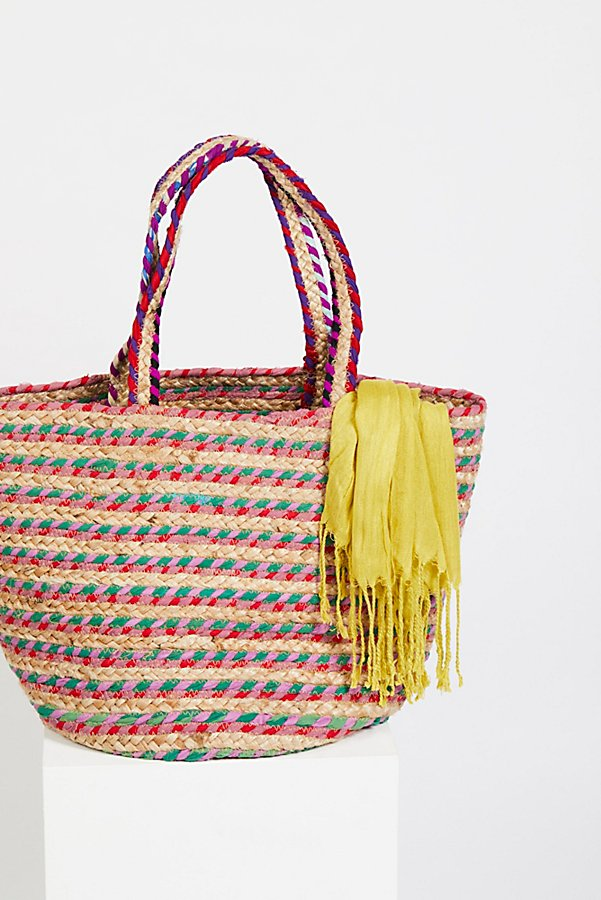Slide View 1: Mirage Jute Tote
